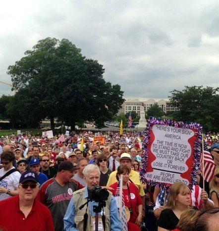 Tea Party rally draws modest crowd on Capitol Hill--many becoming discouraged?? | Littlebytesnews Current Events | Scoop.it