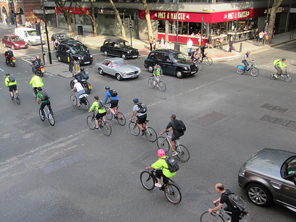 In London, bike commuters now the majority in some places | Sustainable Green chemistry | Scoop.it