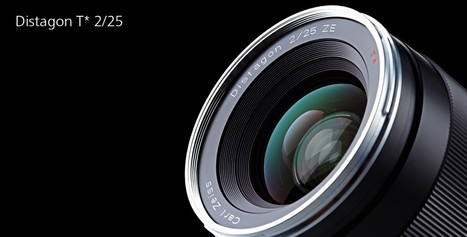 "Zeiss Distagon T* 2/25 Gets Official | ""Cameras, Camcorders, Pictures, HDR, Gadgets, Films, Movies, Landscapes"" 