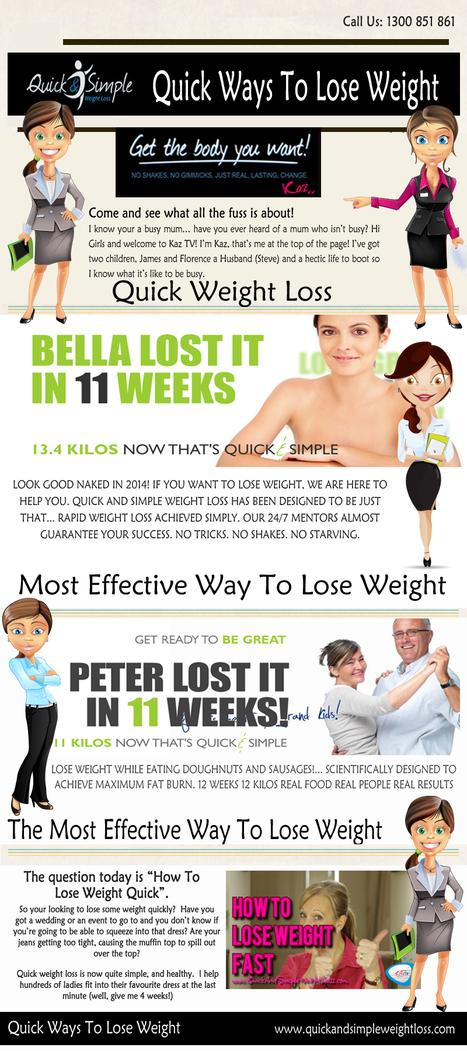 Quick Ways To Lose Weight | Quick Ways To Lose Weight | Scoop.it