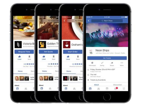 Facebook: bientôt des livraisons de repas, des recommandations, et plus - CNET France | Veille et community management | Scoop.it