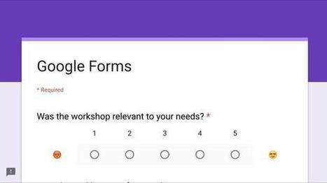 How to use Google Forms to gather better feedback and improve training - TechRepublic | Using Google Drive in the classroom | Scoop.it