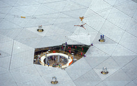 China Completes World's Biggest Radio Telescope in Search of Alien Life | More Commercial Space News | Scoop.it