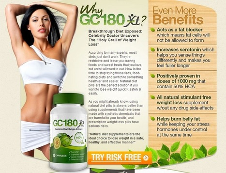 GC180 XT- Get Risk Free Trial | Helps you keep your body | Scoop.it