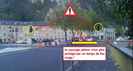 [danger] Il faut remettre un cycle rouge en sortie de St Paul vers D6014/D6015 | VuduPlateau | Scoop.it
