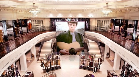 Burberry dévoile le flagship digital le plus innovant du monde à Londres.  |  WonderfulBrands | E-commerce, M-commerce : digital revolution | Scoop.it