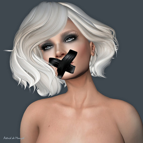 Don't Say a Word   Second life women   Scoop.it