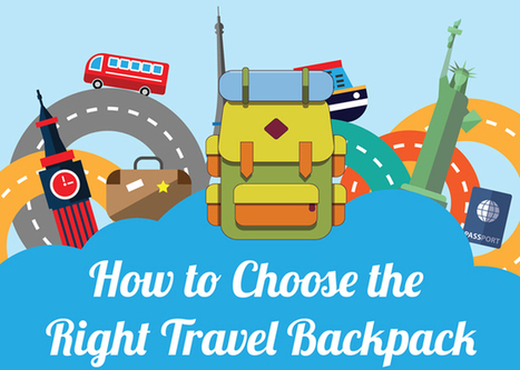 How to Choose the Right Travel Backpack [Infographic] | Jazzy Look | Scoop.it