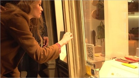 Window Shopping With QR Codes In Amsterdam - 2d-code | QR Code Art | Scoop.it