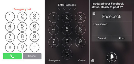 iOS 7 bug lets you call any number from a locked homescreen (video) - turn off Siri! | iGeneration - 21st Century Education | Scoop.it