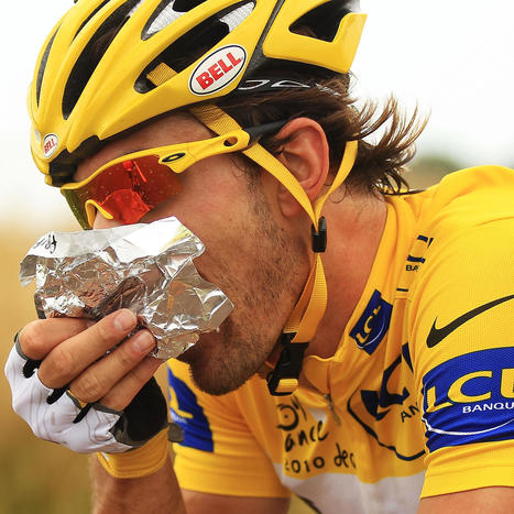 Really, Really Fast Food: What the Tour de France Cyclists Are Eating - Bon Appétit | Sports Activities | Scoop.it