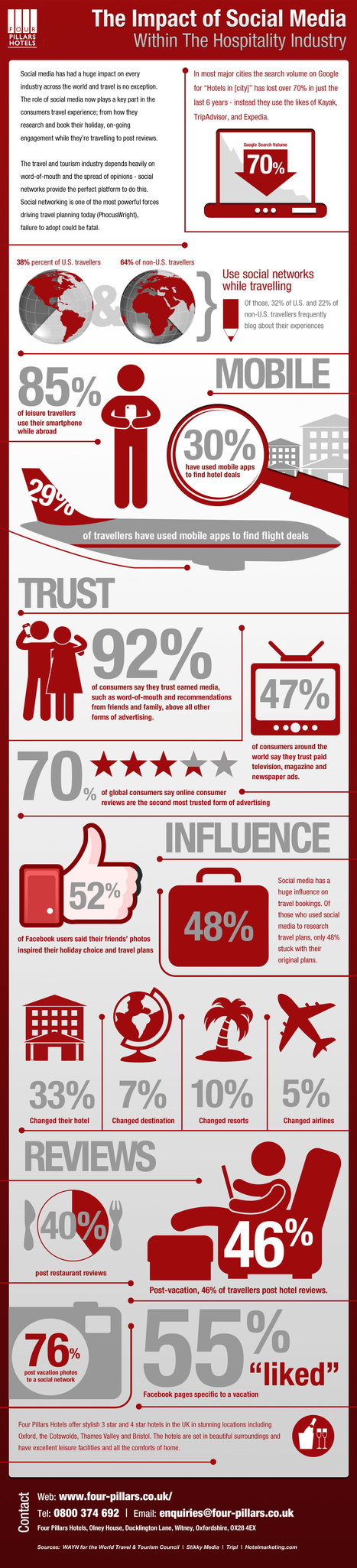 Impact Of Social Media on Travel And Hospitality | INFOGRAPHIC | AFFRETEMENT AERIEN KEVELAIR | Scoop.it