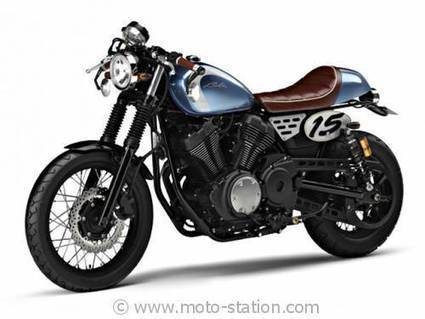 News moto 2014, Tokyo Motor Show : Concept Yamaha Bolt Café - Moto-Station | Cafe Racer | Scoop.it