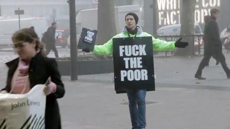 «Fuck The Poor» : les paradoxes de la charité | We love Marketing | Scoop.it