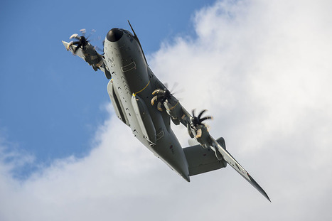 Latest Airbus A400M transport aircraft is delivered to the Royal Air Force | Aerospace industry watch - Paris Air Show | Scoop.it