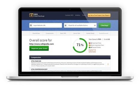 SEO Tools, Software and Articles | SeoSiteCheckup.com | Web Content Enjoyneering | Scoop.it