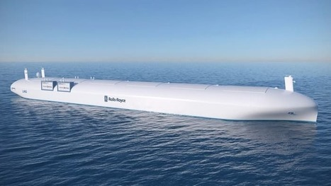 Rolls-Royce predicts robotic ships will be on the water by 2020 | Gizmag | Cultibotics | Scoop.it
