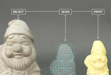 Makerbot shows off 3D scanner | News we like | Scoop.it