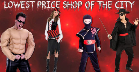 Celebrate This Halloween With The Best New Halloween Costume Ideas 2016 | Costume Shop and Party Supplies Ireland  online | Scoop.it