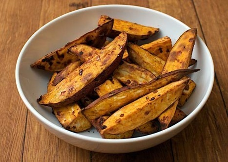 Harissa sweet potato wedges, Top Recipes, Traditional Recipe Ebook, recipe review | Healthy Recipes | Scoop.it