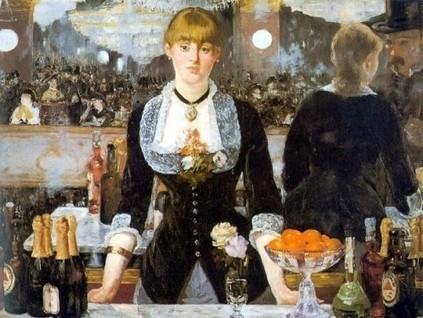 Manet - Serveuse au Bar des Folies Bergères | Les impressionnistes | Scoop.it