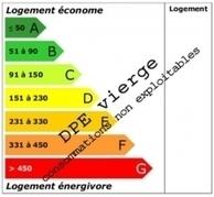 DPE avec étiquette vierge, pourquoi ?   diagnostics et expertises   Scoop.it