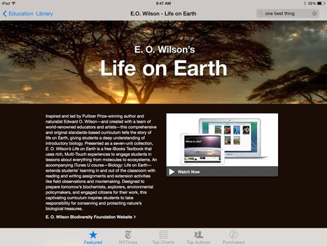 Fantastic Free Interactive Textbooks for the iPad - Class Tech Tips | iPads in Education | Scoop.it