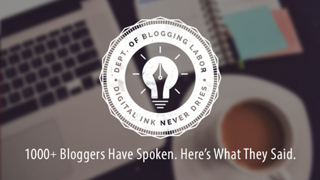 Survey of 1000+ Bloggers: How to Be in the Top 5% | Orbit Media Studios | Public Relations & Social Media Insight | Scoop.it