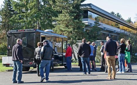 Food trucks are the latest weapon in commercial real estate industry - Puget Sound Business Journal   News about Commercial Real Estate   Scoop.it