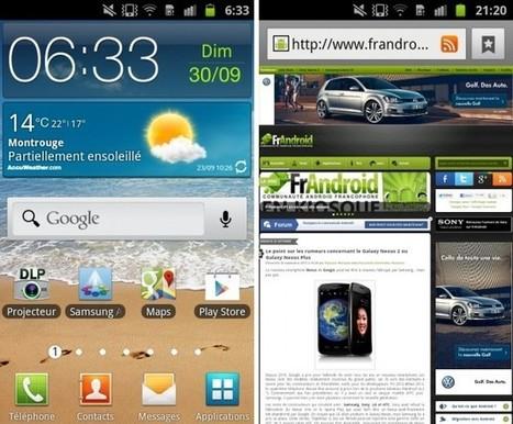 smartphone avec pico-projecteur intégré :  Samsung Galaxy Beam GT-I8530 - FrAndroid | François MAGNAN  Formateur Consultant | Scoop.it