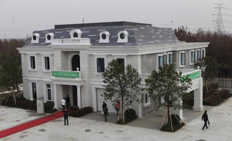 Impression 3D : Une maison construite en 24h pour 3.500€ ! | The Blog's Revue by OlivierSC | Scoop.it