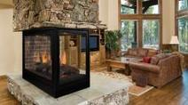 Pearl Designer Multi-Sided Direct Vent Gas Fireplace | Fireplace Glass Doors | Scoop.it