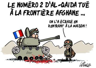 Le numéro 2 d'Al-Qaida tué à la frontière afghane | 694028 | Scoop.it