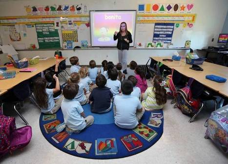 The uncertain future of español in Miami-Dade classrooms | ¡CHISPA!  Dual Language Education | Scoop.it