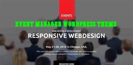 Conference & Event Manager WordPress Theme - ServerThemes.Net | Download Premium WordPress Themes | Scoop.it