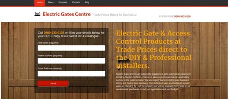 Electric Gates Products at Trade Prcies | Electric Gates | Scoop.it