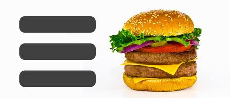 UX móvil: buenas prácticas al utilizar el menú con icono hamburguesa | El Mundo del Diseño Gráfico | Scoop.it