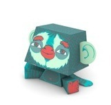 Concours de customisation de paper toys | paper-toy | Scoop.it