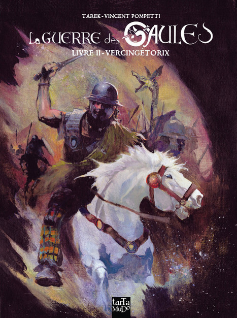 La Guerre des Gaules : couverture du tome 2 | • Bande dessinée • Comics book • | Scoop.it