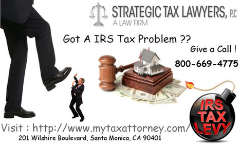 IRS Tax Experts in Los Angeles   Law Tips to Eliminate Tax Problem   Scoop.it