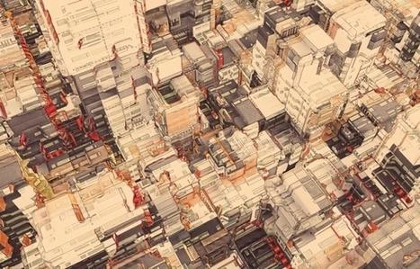 Artworks by Peter Olschinsky | InspireFirst | Artwork for The Brain | Scoop.it