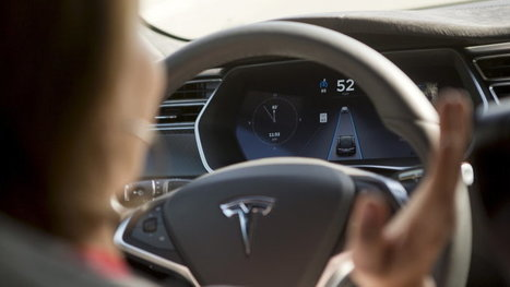 Researchers trick Tesla Model S AutoPilot | Autoblog | Cultibotics | Scoop.it