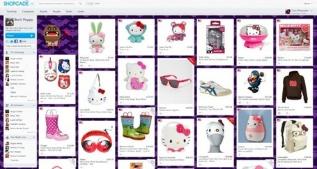 Discover, Collect And Share Products You Love With Shopcade: Pinterest For Ecommerce | Social Media Content Curation | Scoop.it