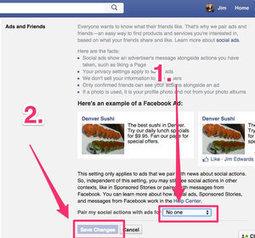 Comment savoir quelles entreprises vous pistent sur Facebook et comment les bloquer   Web 2.0 en bibliothèque...ou ailleurs !   Scoop.it