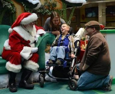 ANN ARBOR: 'Caring Santa' allows special-needs children alone time with Old ... - Heritage Newspapers | Special Needs Parenting & Blogging | Scoop.it