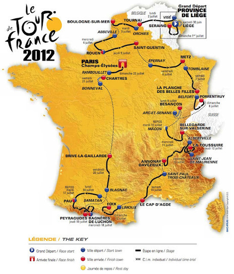 Herald Dick Magazine: Le Tour de France 2012 en blasons : le départ | GenealoNet | Scoop.it