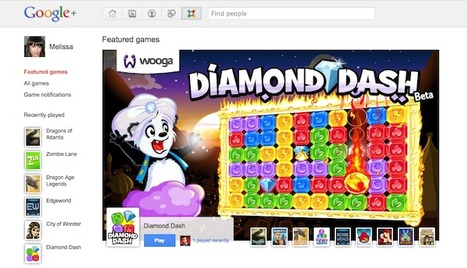 """Launch of Google+ Games Heats Up Social Gaming Battle With Facebook   """"#Google+, +1, Facebook, Twitter, Scoop, Foursquare, Empire Avenue, Klout and more""""   Scoop.it"""