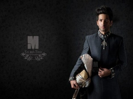 Grooms Sherwani Collection-2014|M.Salman Shah - ..:: Fashion Wd Passion ::.. | Wear Fashion with Style | Scoop.it