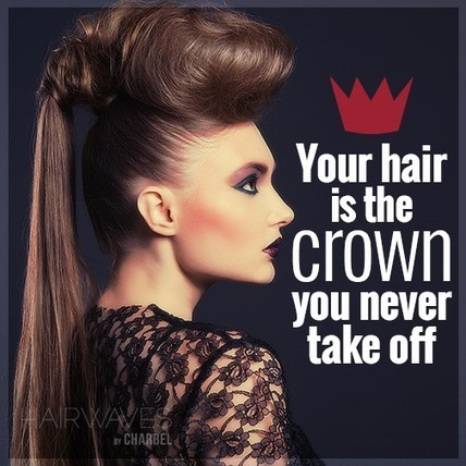 Your hair is the crown you never take off | Latest And Trendiest Hairstyling Techniques | Scoop.it