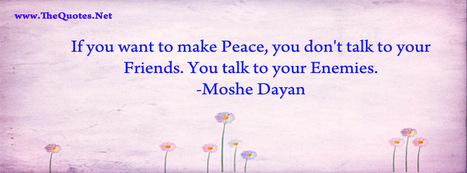 Facebook Cover Image - Moshe Dayan Quote - TheQuotes.Net | Facebook Cover Photos | Scoop.it